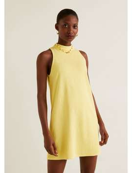 Robe Col Montant by Mango