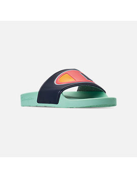 Men's Champion Ipo Color Block Slide Sandals by Champion