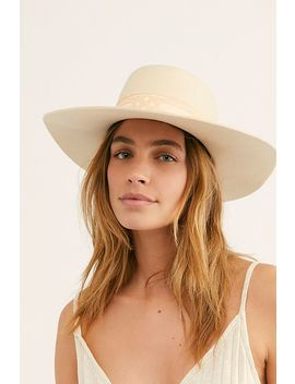 Sierra Boater Hat by Lack Of Colour