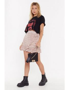 Only Time Frill Tell Floral Mini Skirt by Nasty Gal