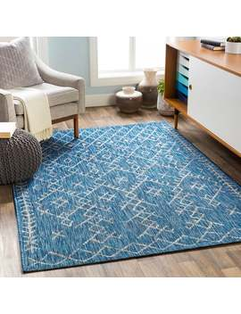 Despina Indoor/ Outdoor Bohemian Trellis Area Rug by Generic