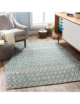 Elpida Indoor/ Outdoor Moroccan Stripe Area Rug by Generic