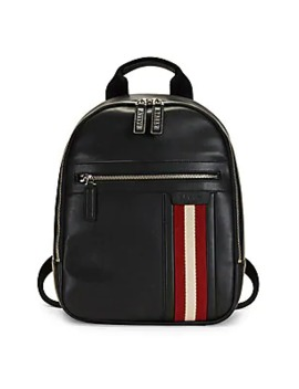 Tarrot Leather Backpack by Bally