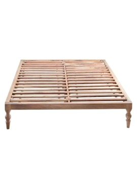 Rhonda Platform Queen Bed Natural by Madeleine Home
