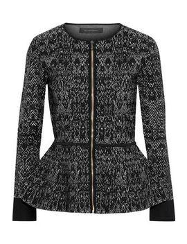 Morris Jacquard Knit Peplum Jacket by Roland Mouret