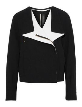 Bryce Wool Crepe Jacket by Roland Mouret