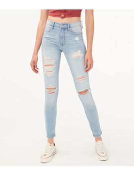 Flex Effects High Rise Jegging by Aeropostale