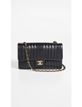 """Chanel Vertical 10"""" Flap Bag by What Goes Around Comes Around"""