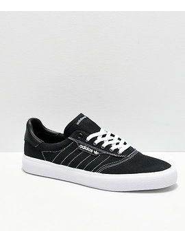 Adidas 3 Mc Black &Amp; White Contrast Canvas Shoes by Adidas