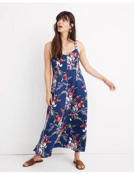 Cami Maxi Dress In Orchid Bouquet by Madewell
