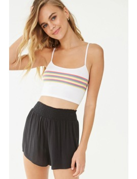 Smocked Lounge Shorts by Forever 21