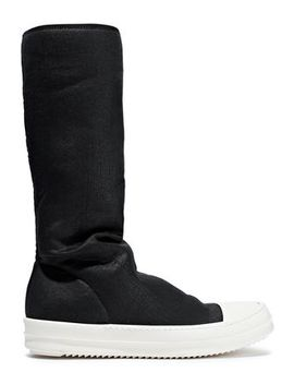 Smop Rubber Trimmed Stretch Neoprene Sock Boots by Drkshdw By Rick Owens