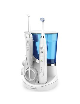 Waterpik Complete Care Oscillating Electric Toothbrush + Water Flosser  White by White