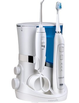 Complete Care 5.0 Water Flosser And Triple Sonic Toothbrush   White by Waterpik