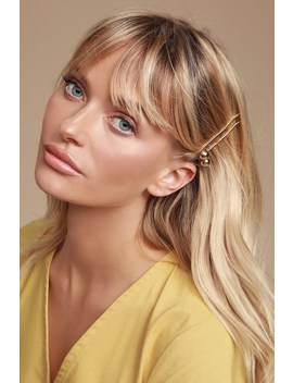 Windser Gold Hair Pin Set by Lulus