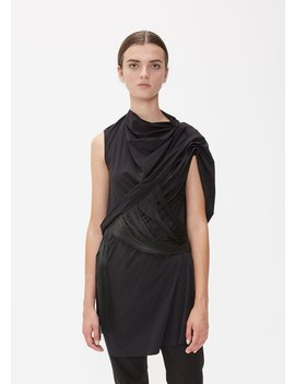 Sleeveless Fringe Top 2 by Rick Owens