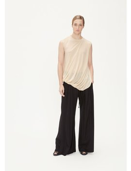 Sleeveless Draped Top by Rick Owens Lilies