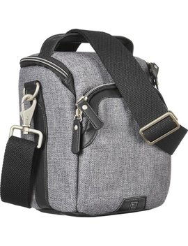 Metropolitan Camera Shoulder Bag   Gray/Black by Platinum