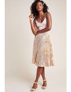 Aurora A Line Midi Skirt by Geisha Designs