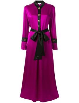 Metallic Button Dress by Layeur