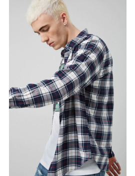 classic-fit-plaid-shirt by forever-21