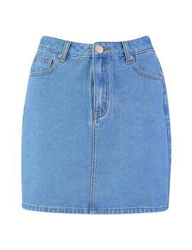 Tall Denim Skirt by Boohoo