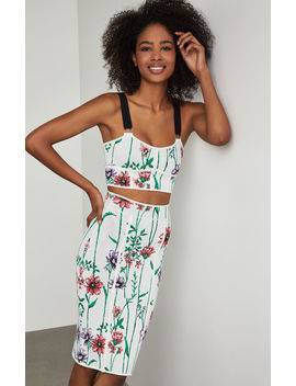 Floral Bustier Top by Bcbgmaxazria