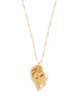 Il Grand Amore Necklace 24kt Gold Plated Necklace by Alighieri