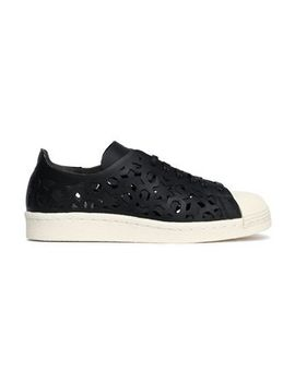 Superstar 80s Laser Cut Leather Sneakers by Adidas Originals