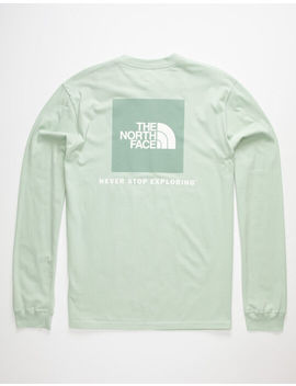 The North Face Red Box Mint Mens T Shirt by The North Face
