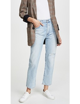 Mckenzie Curved Straight Jeans by Citizens Of Humanity