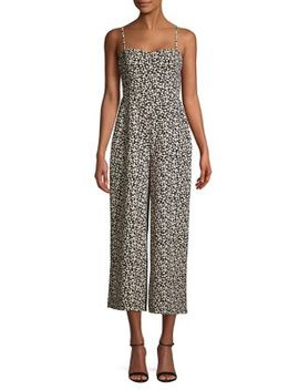 Printed Cut Out Jumpsuit by French Connection