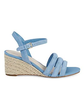 Jasmine Suede Wedge Espadrilles by Cole Haan