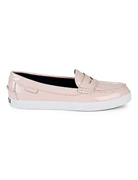 Nantucket Patent Leather Penny Loafers by Cole Haan