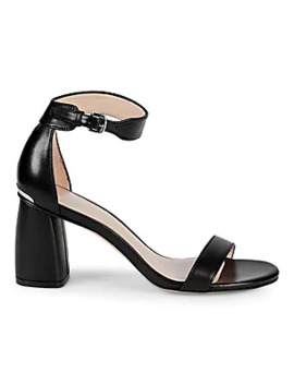 Partly Block Heel Sandals by Stuart Weitzman