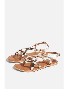 **Wide Fit Hazy Sandals by Topshop