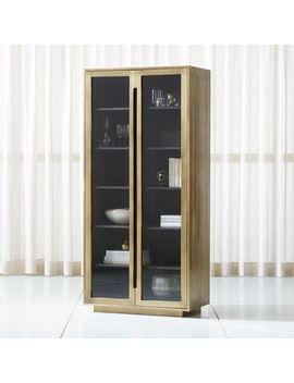 Freda Glass Door Cabinet by Crate&Barrel