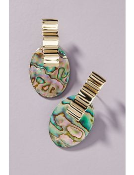 Luiny Abalone Drop Earrings by Luiny