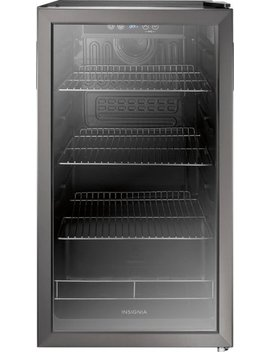 115 Can Beverage Cooler   Black Stainless Steel by Insignia™