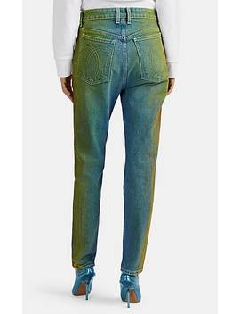 Gradient Dyed Slim Straight Jeans by Jordache