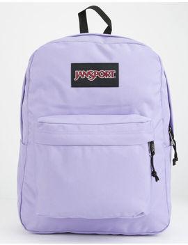 Jansport Black Label Super Break Purple Backpack by Jansport