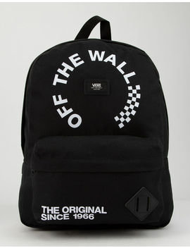 Vans Old Skool Black & White Backpack by Vans