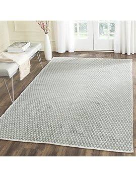 safavieh-boston-collection-bos685e-handmade-grey-cotton-area-rug-(4-x-6) by safavieh