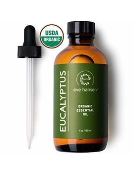 eve-hansen-usda-certified-organic-eucalyptus-essential-oil-4oz-|-topical-and-aromatherapy-essential-oil-|-organic-eucalyptus-oil-for-mucus-relief,-nausea-relief-and-stress-relief-essential-oil by eve-hansen