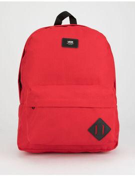 Vans Old Skool Ii Red Backpack by Vans