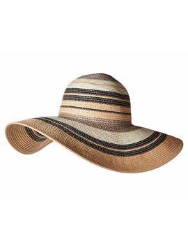 Metallic Stripe Hat by Echo Design