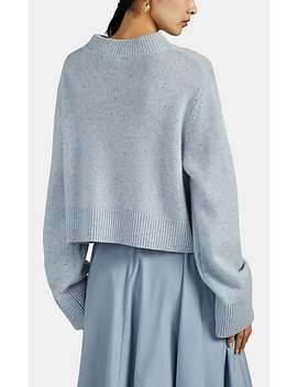 Heathered Cashmere Boxy Sweater by Co