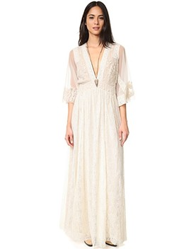 Eclair Embroidered Maxi Dress by Free People