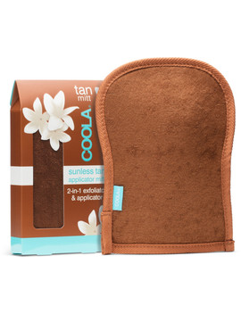 Sunless Tan 2 In 1 Exfoliator & Applicator Mitt by Coola