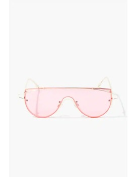 Premium Tinted Shield Sunglasses by Forever 21